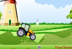 Игра Гонки на тракторе