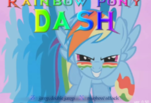 Игра Rainbow Pony Dush