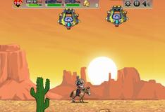 Игра Ковбои против прищельцев