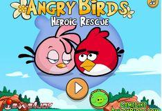 Игра Злые птички Спасение любимой