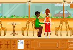 Игра Официантка в кафе
