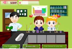 Игра Поцелуй в лаборатории