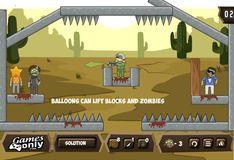 Игра Воздушные шары против Зомби 2