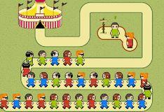 Игра Зума, Человечки на марше