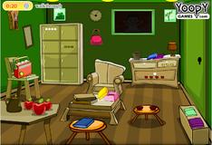 Игра Побег из старой зеленой комнаты