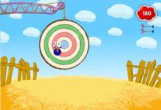 Игра Смешарики: Попади в цель