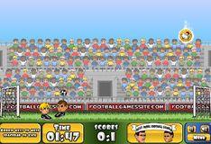 Игра Игра Большой футбол головами