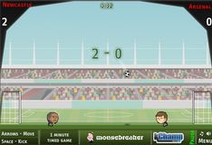 Игра Игра Чемпионат по футболу с участием голов