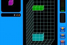 Игра Игра Кубический тетрис