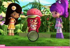 Игра Игра Шарлотта Земляничка: Поиск букв