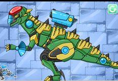Игра Комбинат! Дино робот - стегоцер