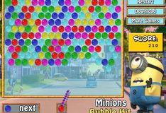 Игра Миньоны: Выстрел пузырями