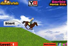 Барби на коне