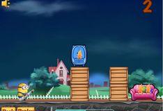 Игра Игра Миньоны-пожарники