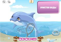 Игра Забота о дельфине