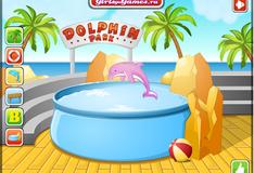 Игра Украшение дельфинария
