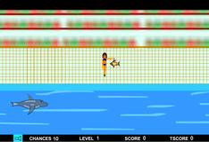 Игра Накормить дельфина