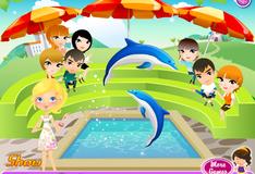 Игра с дельфинами