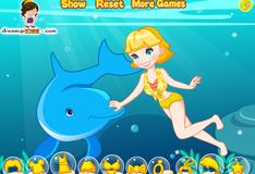 Игра Плавание с дельфином