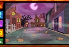 Игра Гуппи  празднуют хэллоуин