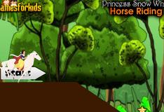 Игра Белоснежка на коне