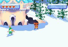 Игра Кико и друзья катаются на санках