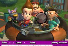 Игра Игра Джимми Нейтрон: Скрытые буквы