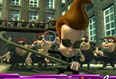 Игра Игра Скрытый алфавит - Джимми Нейтрон