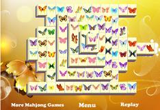 Маджонг с бабочками
