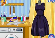 Игра Шить одежду: Создаем галактическое платье с Эльзой