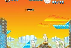 Игра Игра Бешеная пингвинья катапульта