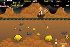 Игра Бен 10: Золотоискатель