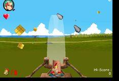 Игра Игра Астерикс и Обеликс - стрельба из арбалета