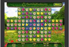 Игра Цветочный пазл