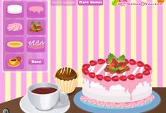 Игра забавный торт