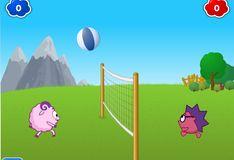 Игра Игра на двоих: Смешарики: Волейбол