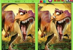 Игра Ледниковый период - Эра Динозавров Найдите отличие