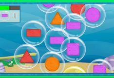 Игра Игра Гуппи и пузырьки. Помогите щенку лопать пузырьки