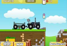 Игра Гонки на тракторе 2