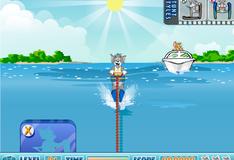 Игра Гонки на водных лыжах