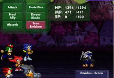 Игра Сражение Соника и его команды