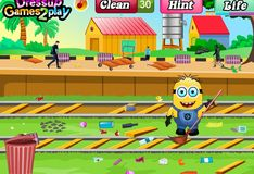 Игра Миньон на железнодорожной станции