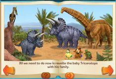 Игра Чудо-зверята: Спасти Детёныша динозавра!