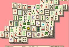 Игра Новогодний маджонг
