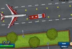 Парковка автобуса в аэропорту 2
