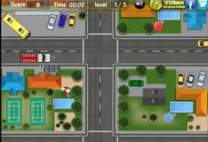 Игра Парковка на автобусной остановке
