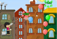 Игра Воздушные шары Боба