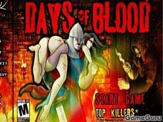 Игра Кровавые деньки