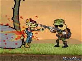 Игра Массовый террор - Зомби