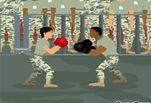 Играть бесплатно в Армейский бокс